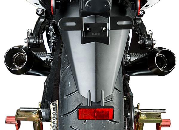 2006 ZX14 Dual Black GP Slip Ons