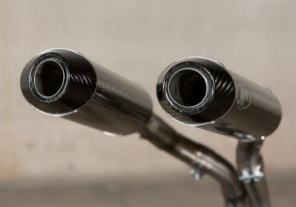 2007 Yamaha R1 Undertail Carbon Fiber Slip Ons
