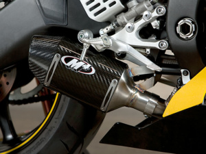 2008 R6 Street Slayer-Carbon Fiber Slip On with Muffler Box Eliminator