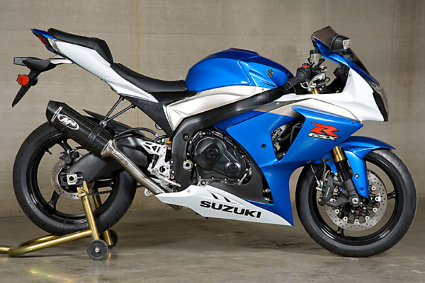 2009-11 GSXR 1000 Race System with Carbon Muffler