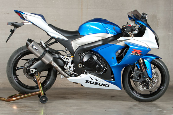 2009-11 GSXR 1000 Race System with Titanium Muffler