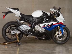 2010 BMW S1000RR Black GP Slip On