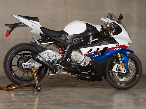 2010 BMW S1000RR Black GP Slip On