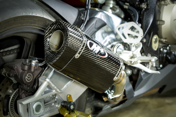 2015 BMW S1000RR Carbon Slip On