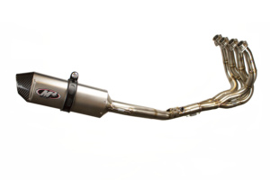 2008 GSXR600 Race Full System - Titanium Muffler