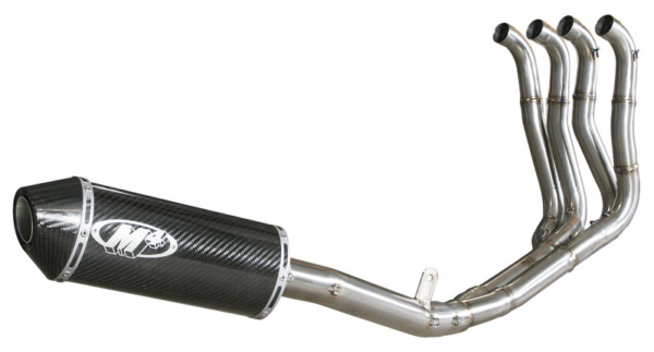 2008 GSXR750 Race Full System - Carbon