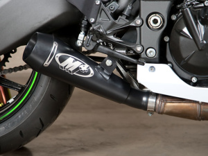 2010 ZX10R GP Black Slip On