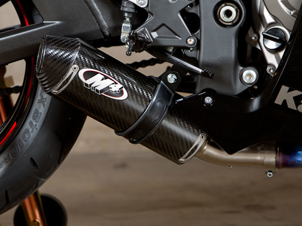 2011 ZX10R Street Slayer System Slip On with Carbon Fiber Canister