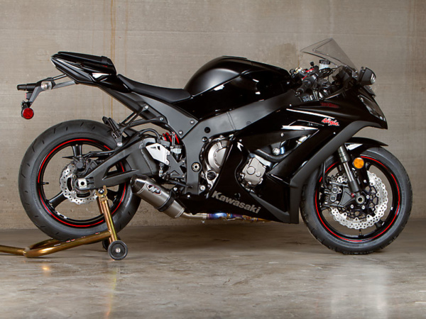2011 ZX10R Street Slayer System Slip On with Titanium Canister