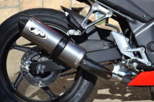 2015 CBR300R Slip On with Titanium Canister
