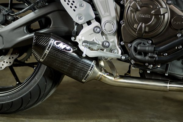 2015 Yamaha FZ07 Carbon Fiber Slip On