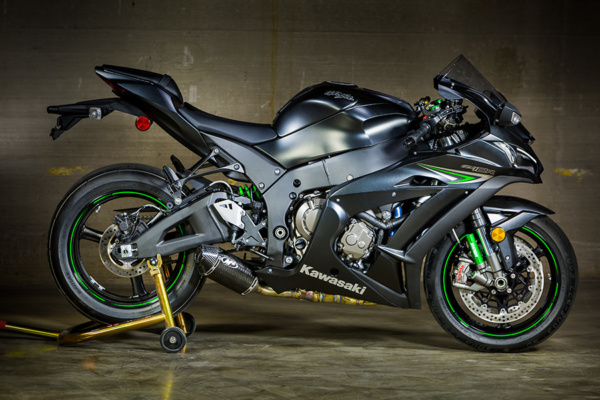 2016 ZX10R Slip On Street Slayer Carbon