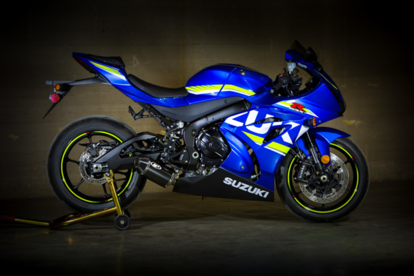 2017 GSXR 1000 Full System with Carbon Fiber Street Slayer Muffler