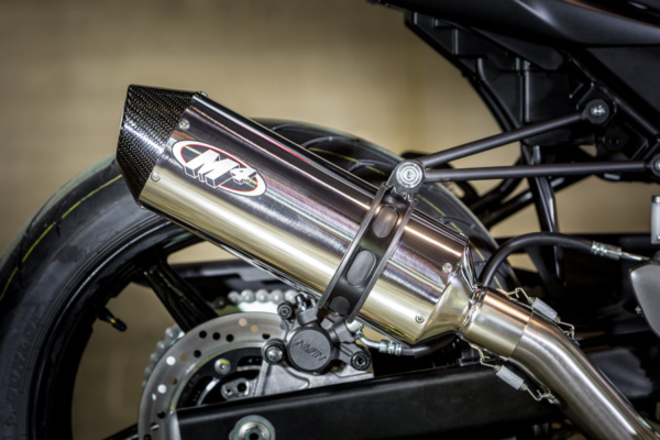 2017 SV-650 Race Full System with Polished muffler