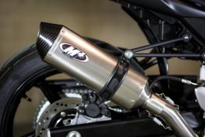 2017 SV-650 Race Full System with Titanium muffler