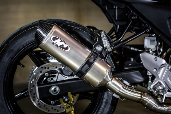 2017 SV-650 Full System with Titanium muffler