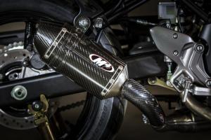 2017 SV-650 Slip On System with Carbon Fiber muffler