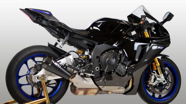 2020 Yamaha R1 Blk RM1 Slip-On
