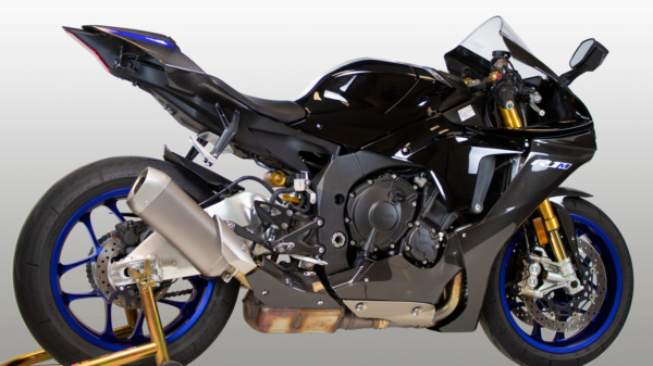 2020 Yamaha R1 Carbon Heat Shield