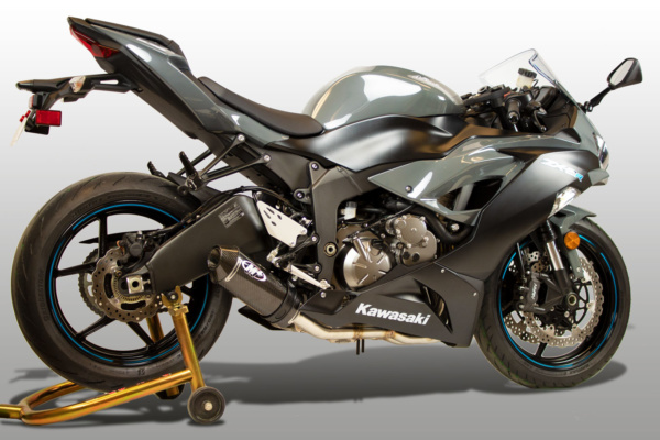 2019 ZX6R Full System Street Slayer Carbon