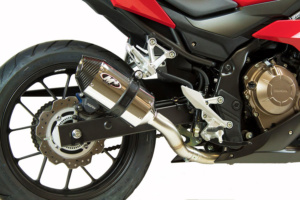 2017 Honda CBR500 Polished Full System
