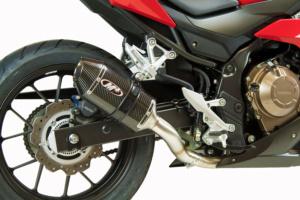 2017 Honda CBR500 Carbon Full System