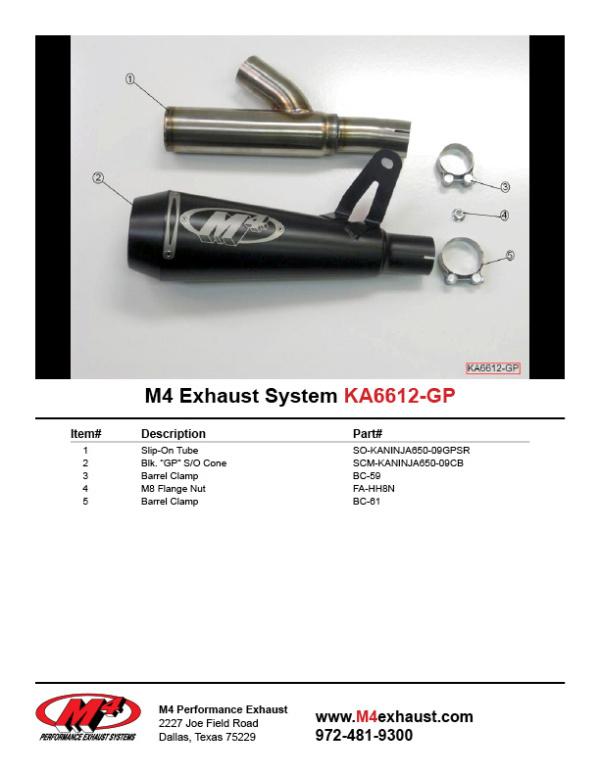 KA6612-GP Component Key