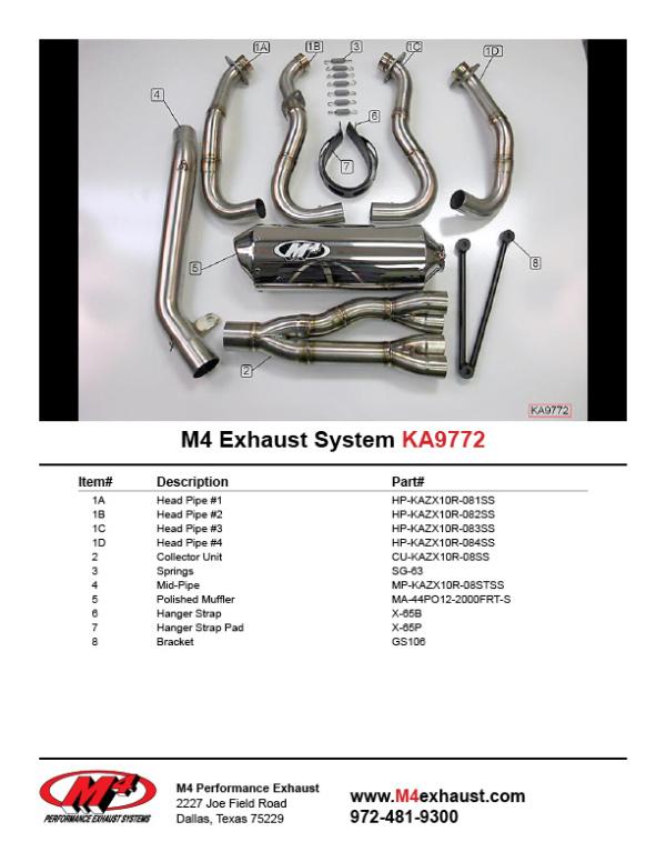 KA9772 Component Key