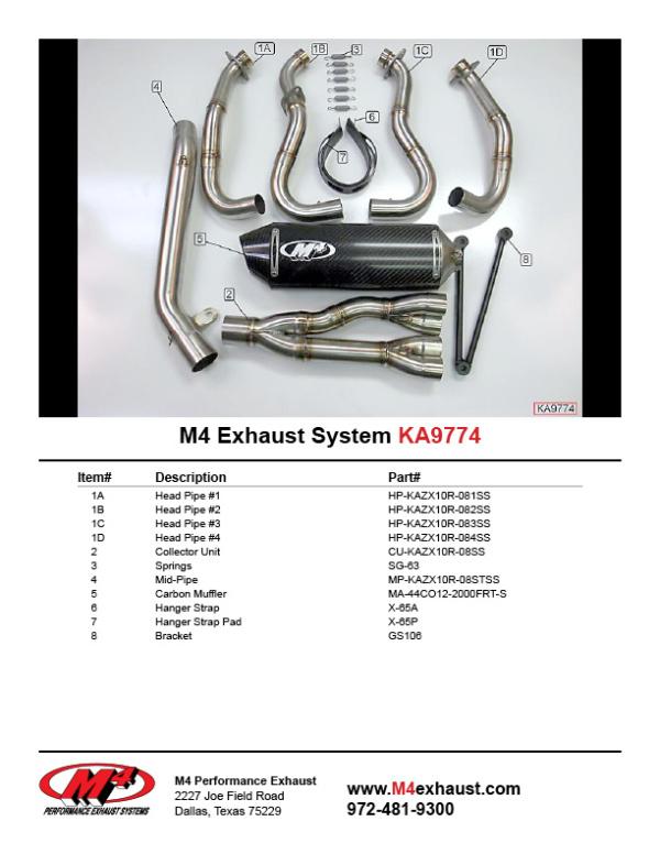 KA9774 Component Key