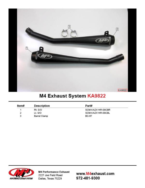 KA9822 Component Key