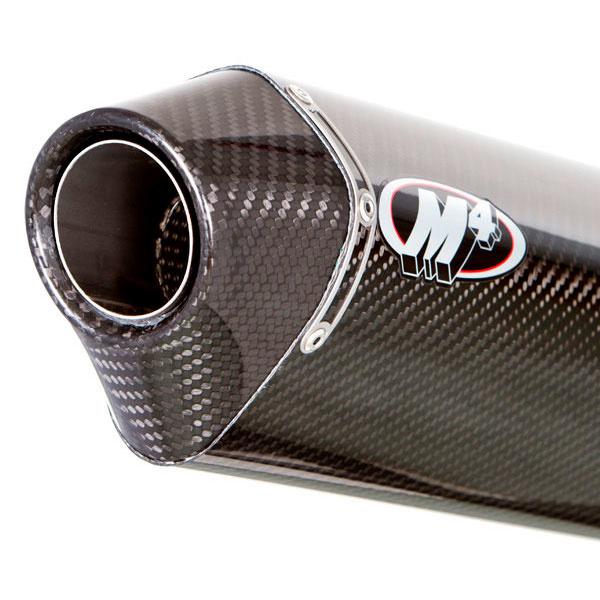 MC36 carbon fiber muffler