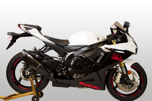 2011 GSX-R600/750 Slip-On Tech1