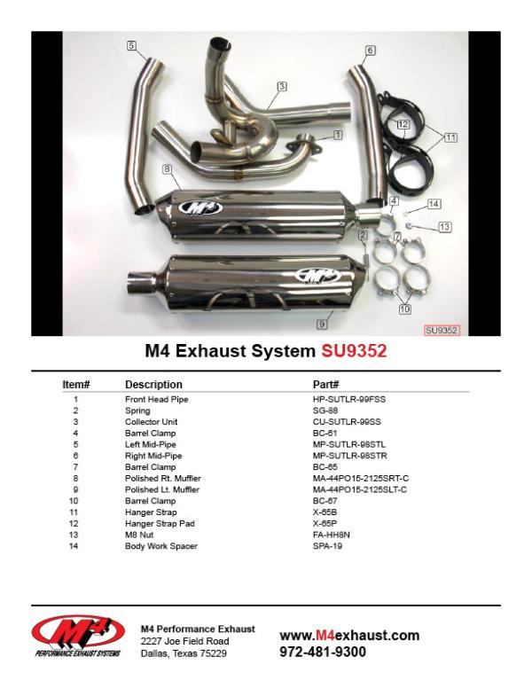SU9352 Component Key